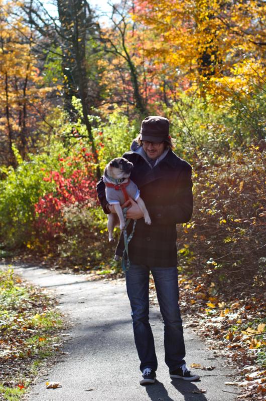 Sid and Brian love Autumn