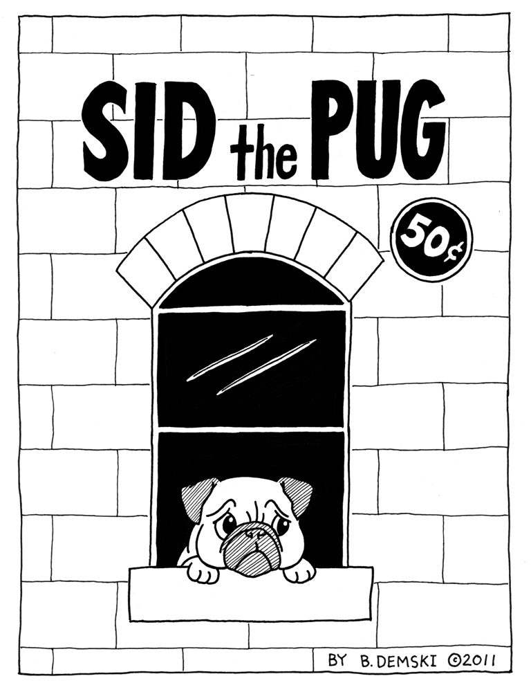 Sid the Pug - Front Cover
