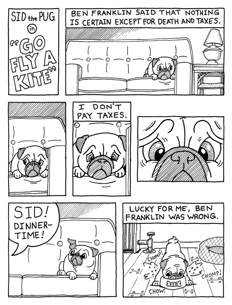 Sid the Pug - Page 2 - Go Fly a Kite